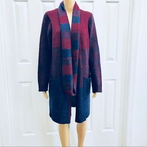 NWT Long with Pockets Cardigan M